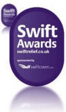Azam Marketing has been awarded the Swift Award 'to demonstrate its ability to provide the quickest, most reliable and hassle-free service for its customers, as measured against our tough awards criteria'